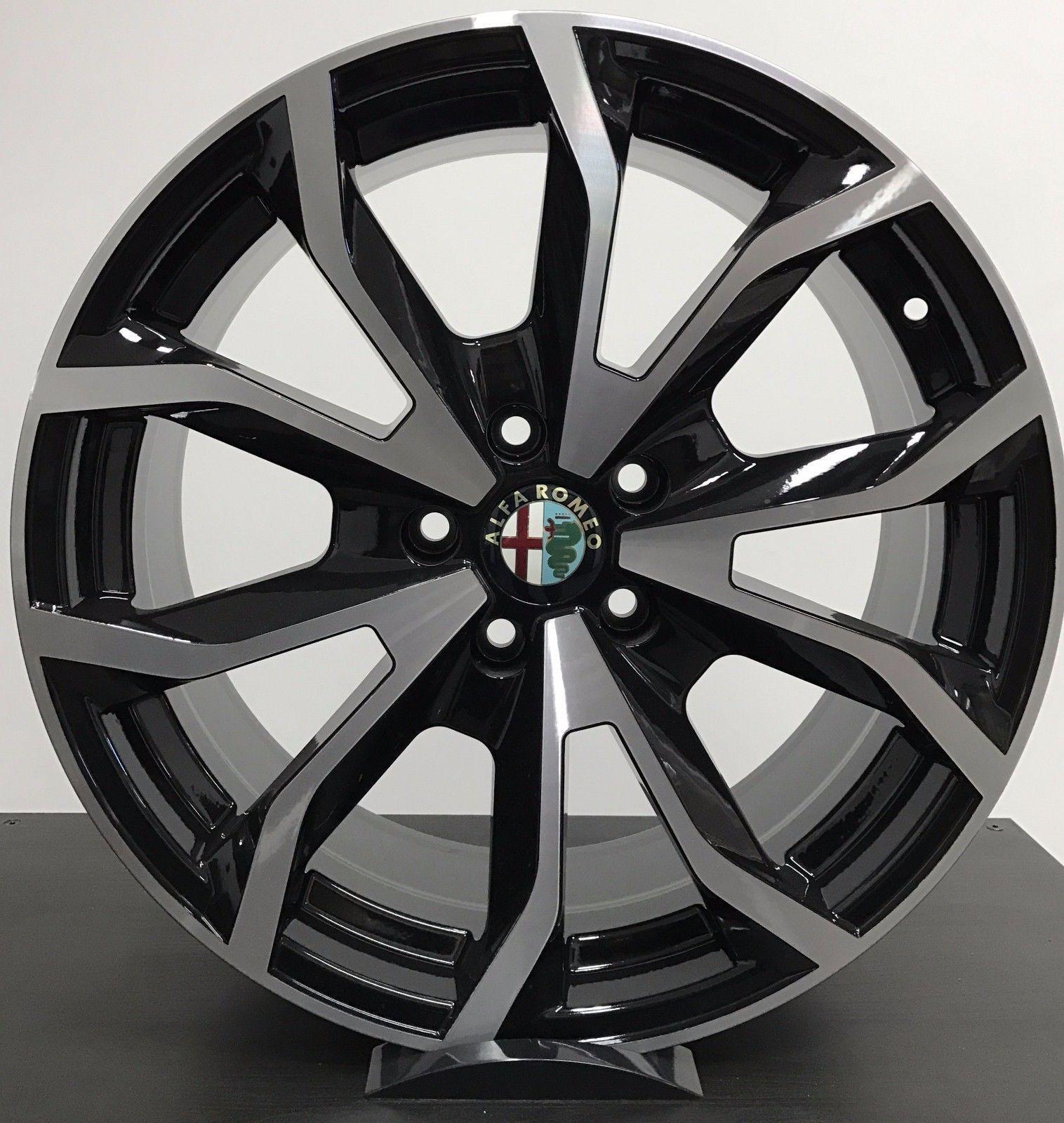 Cerchi In Lega Alfa Romeo Giulietta, Quadrifoglio Alfa