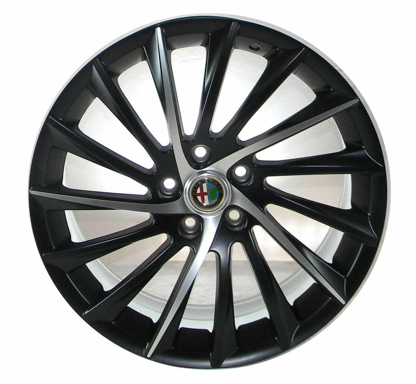 4x Cerchi In Lega Alfa Romeo Giulietta Stelvio Giulia